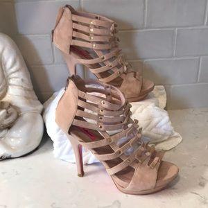 Blush Betsey Johnson platform sandal